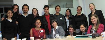 Primera reunión. Representantes de organizaciones miembros de la Red.