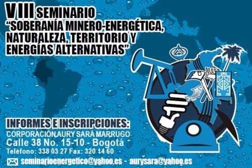 VIIISeminarioSoberaniaMineroEnergetica2013