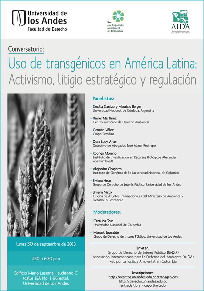 Conversatorio Transgenicos 2013