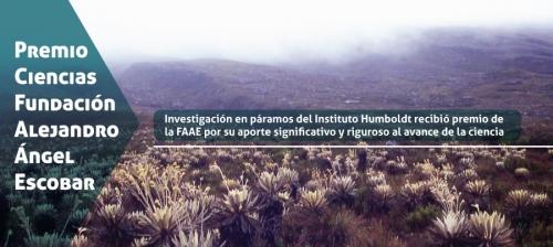 Premio FAAE delimitacion Paramos del Humboldt