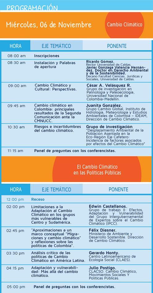 programacion1 Desplazamiento Ambiental 2013