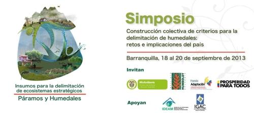 Simposio Paramos y Humedales 2013