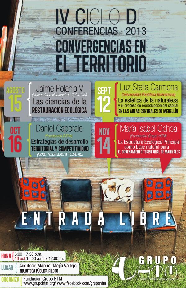 afiche Convergencias Ambientales 2013