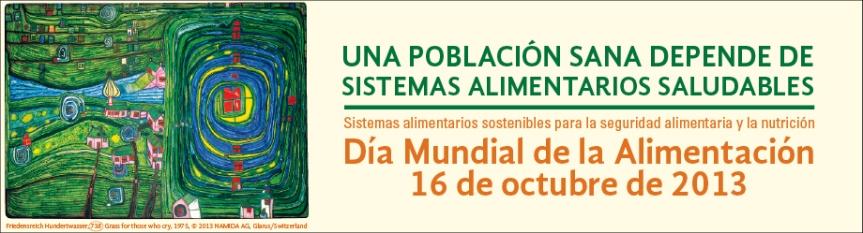 Afiche dia mundial alimentacion 2013
