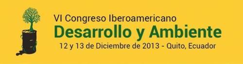Congreso Iberoamericano Desarrollo y Ambiente 2013