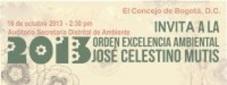 Orden Excelencia Ambiental 2013