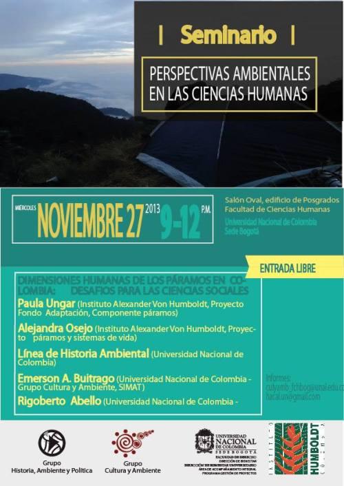 Dimensiones Humanas de los paramos 2013
