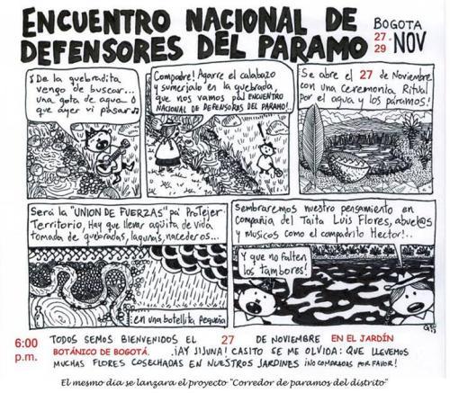 Encuentro Nacional Defensores del Paramo 2013
