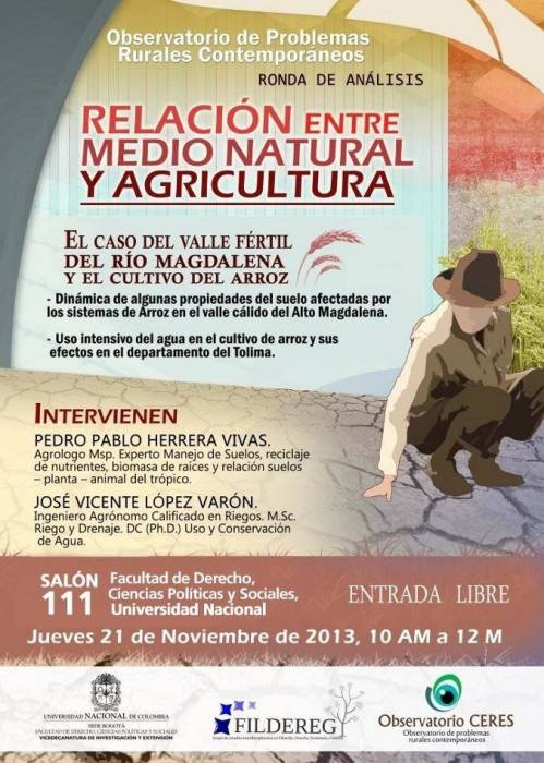 Evento Observatorio Rural contemporaneo 2013