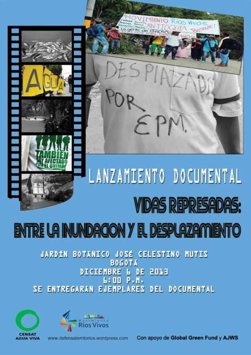 documental vidas represadas 2013