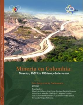 Portada libro mineria Contraloria 2013