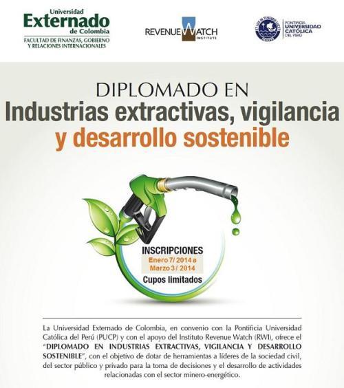 Diplomado Industrias Extractivas 2014