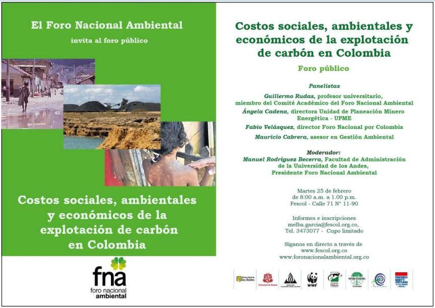 Evento sobre mineria de Carbon 2014