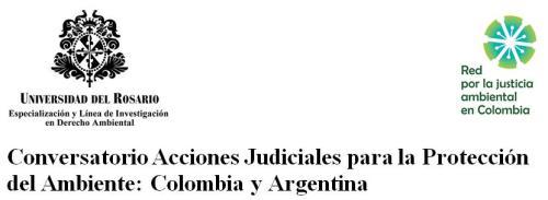 Imagen conversatorio acciones judiciales ambientales 2014