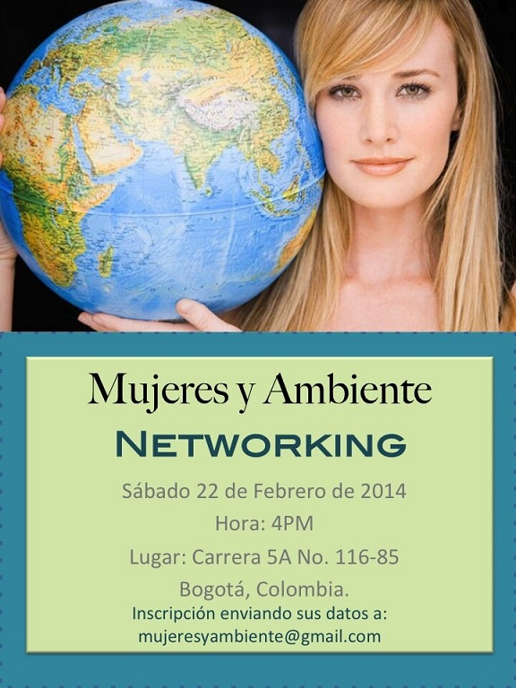 Networking Mujeres y Ambiente