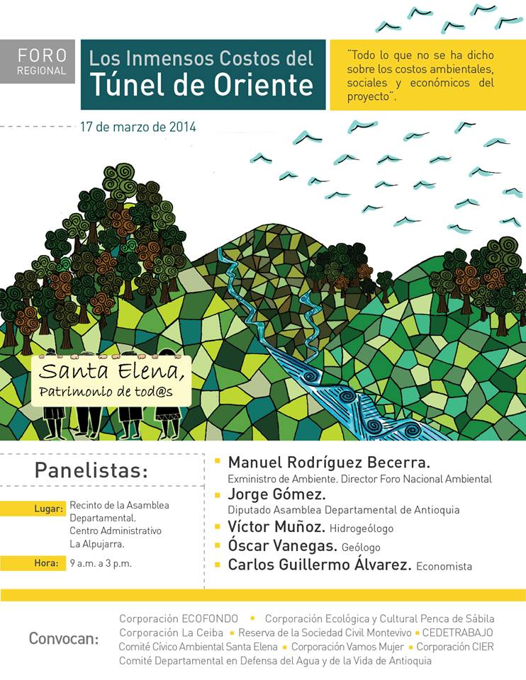 Evento Tunel Verde marzo 2014