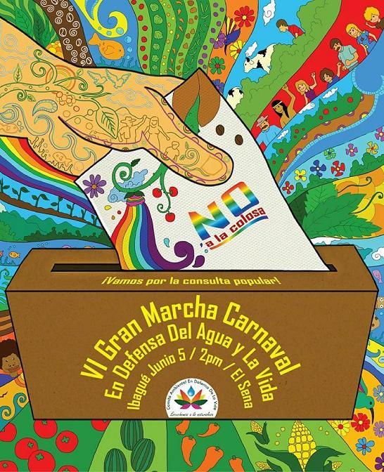 Afiche VI Marcha Carnaval