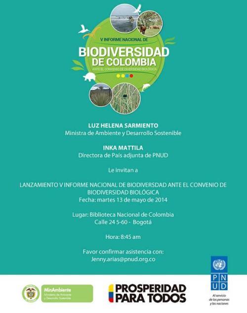 Informe Biodiversidad Colombia 2014