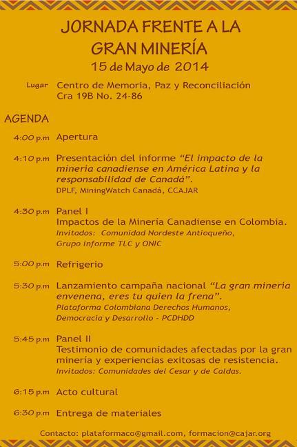 Jornada Gran Mineria 2014