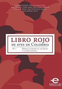 Portada Libro Rojo de Aves Colombia2014