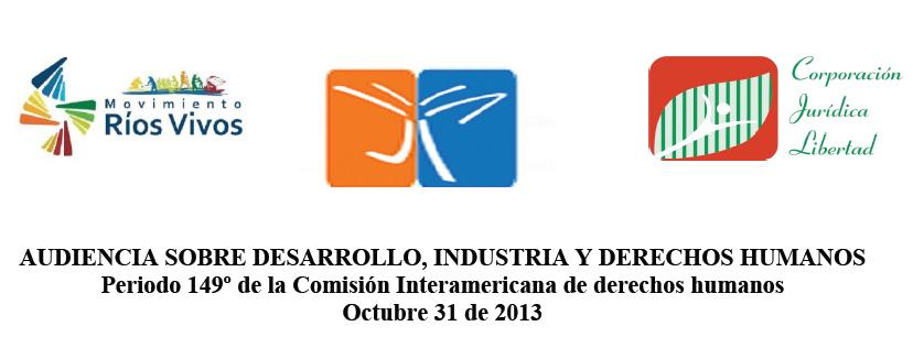 Audiencia Desarrollo Industrias DDHH