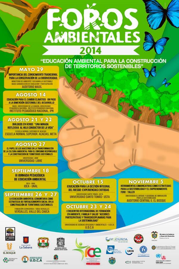 Foros Ambientales 2014