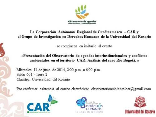 Observatorio Agendas Ambientales 2014