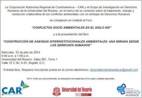 Evento U rosario 2014