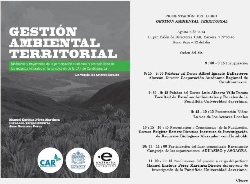 Gestion Ambiental territorial