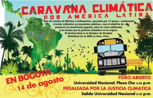 Caravana justicia climatica 2014