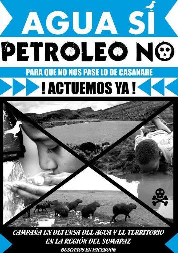Agua y territorio Sumapaz 2014