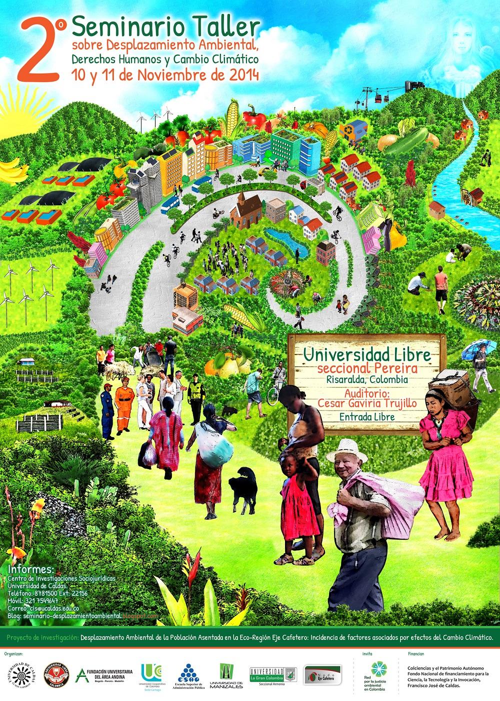 Seminario Desplazamiento Ambiental, DDHH y CC