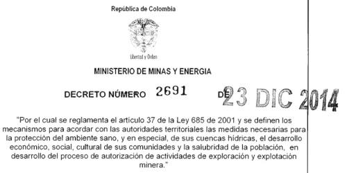 Decreto 2691 de 2014