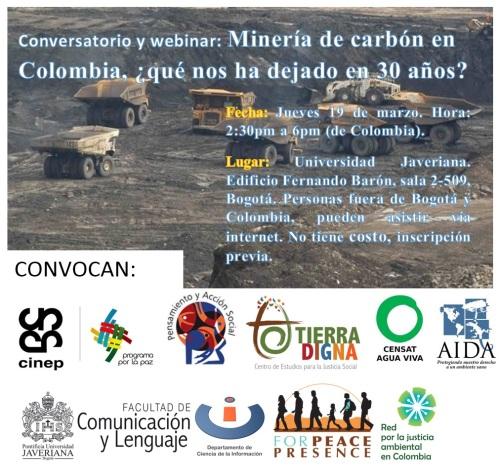 conversatorio mineria carbon 2015