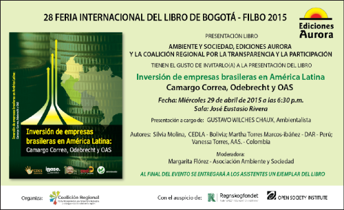 invitacion Feria del libro