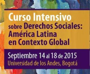 curso derechos sociales 2015