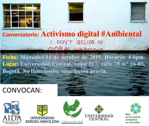 conversatorio activismo digital ambiental salon 517
