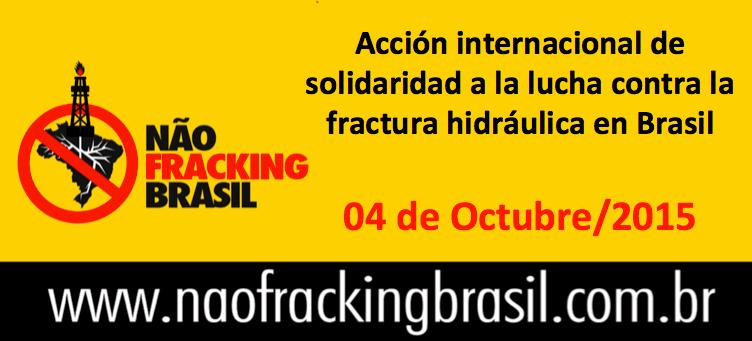 no fracking brasil