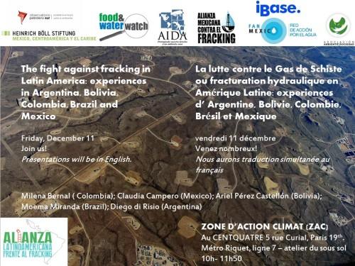 ZAC fracking Latinoamerica