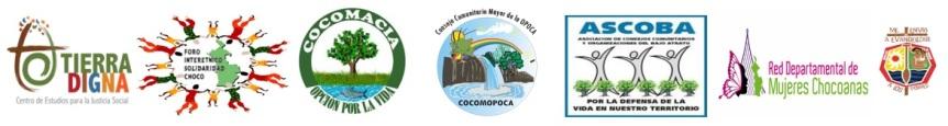 cabecera comunicado publico Tierra Digna