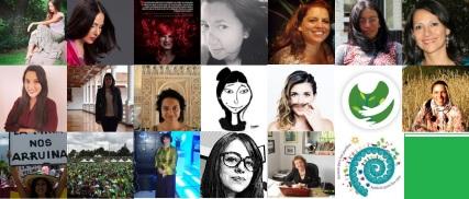 mujeres ambientalistas en twitter
