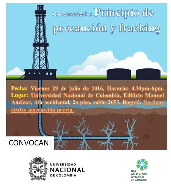 conversatorio fracking