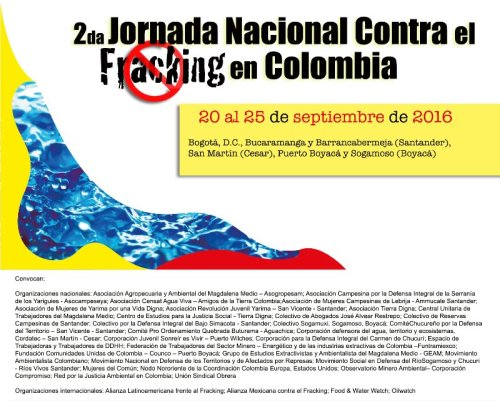 2da Jornada Nacional vs Fracking
