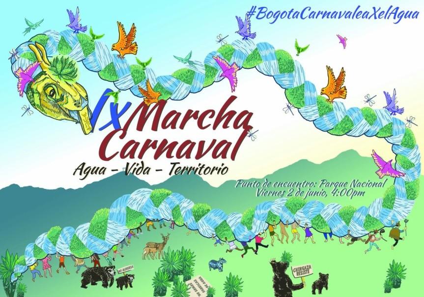 carnaval agua Bogota