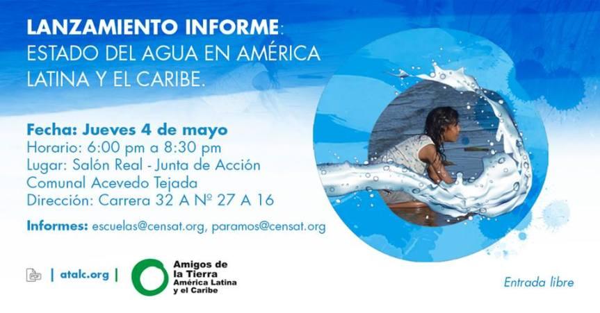 Lanzamiento del informe: Estado del agua en AméricaLatina