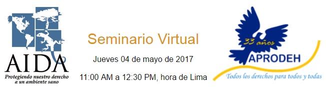 Invitación webinar: El aire limpio y la salud en Perú peligran, conoce elporqué