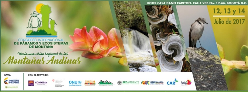 Congreso internacional de páramos y Ecosistemas deMontaña