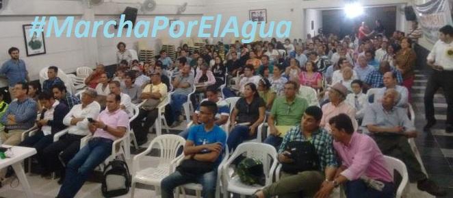 Se acerca una gran marcha por el agua de Bucaramanga este 6 de octubre de2017