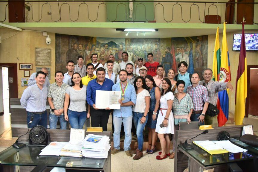Concejo de Ibagué entregó reconocimiento al ComitéAmbiental