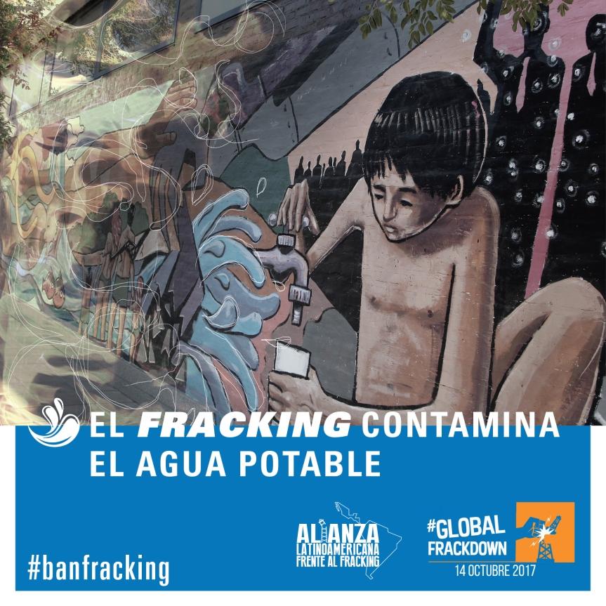 Campaña mundial #BanFracking este 14 de octubre para salvar el planeta delFRACKING